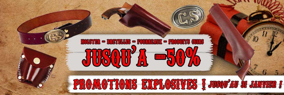 PROMOTION HOLSTER CUIR