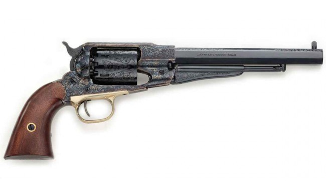 1858 REMINGTON NEW MODEL ARMY JASPE